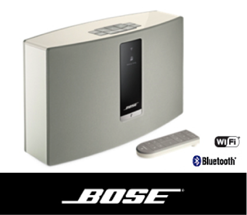 Parlante Bose 738063-2200 soundtouch 20 parlante wireless 20w blanco